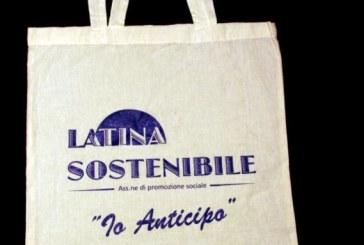 Latina Sostenibile, buste riciclabili per limitare i rifiuti